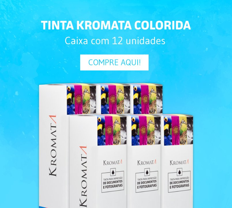 Adquira o kit de 12 tintas coloridas Kromata e economize!