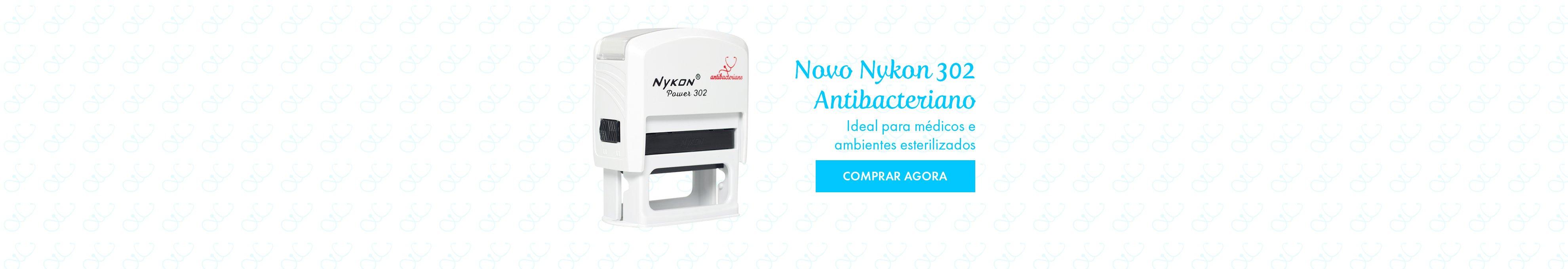 Nykon 302 Antibacteriano. Ideal para médicos e ambientes esterilizados.