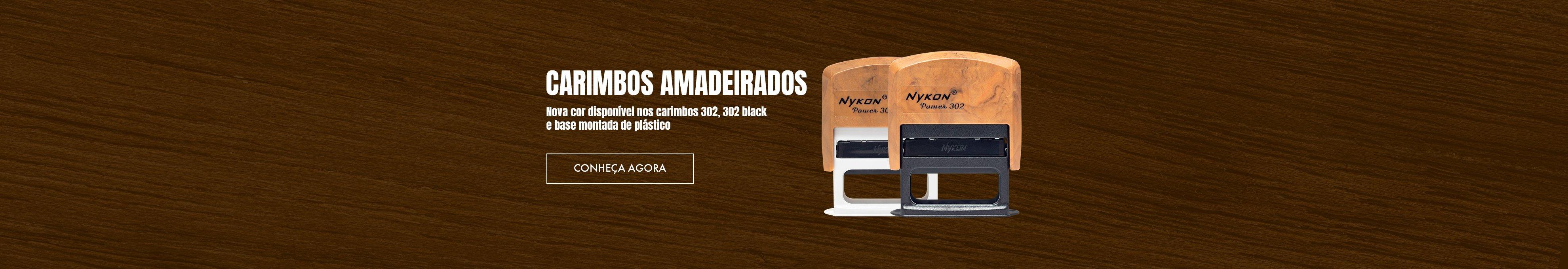 Conheça a cor Amadeirado, a nova opção dos carimbos da Nykon!