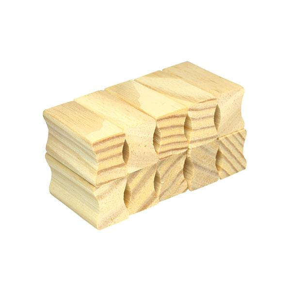 Foto 2 Base de madeira Scrap 15x40mm - 10unid