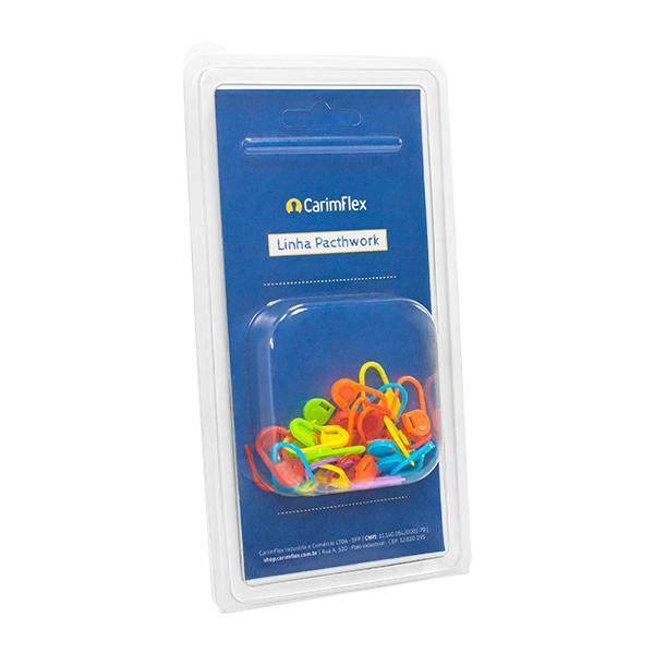 Foto 2 Marcadores para Patchwork  Ponto Cadeado Plástico