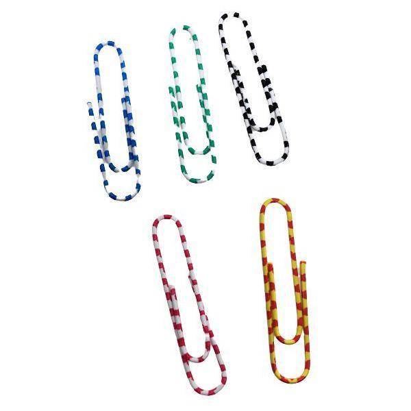 Foto 1 Clips Coloridos de Metal 5 cm