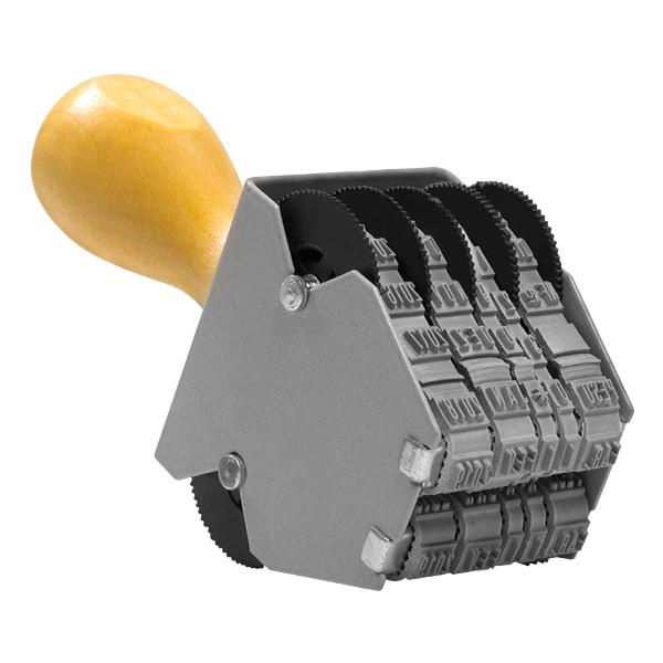Foto 1 Datador Duplo Sobreposto com Dizeres 3mm Ref. 863