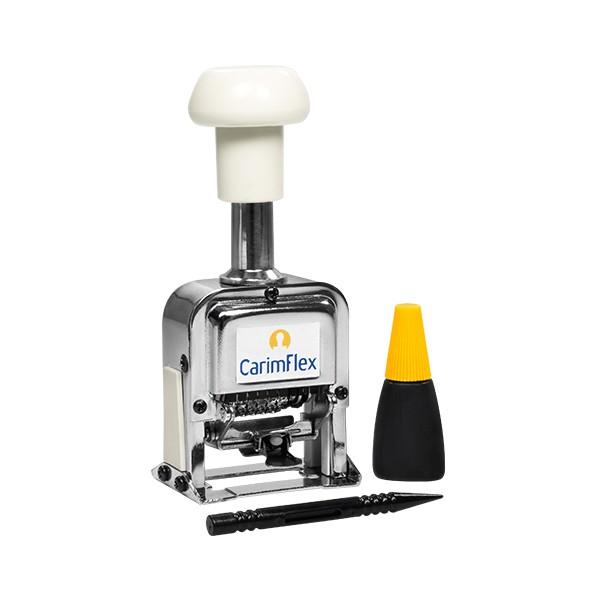 Foto 1 Numerador de Aço Sequencial CarimFlex CF-80