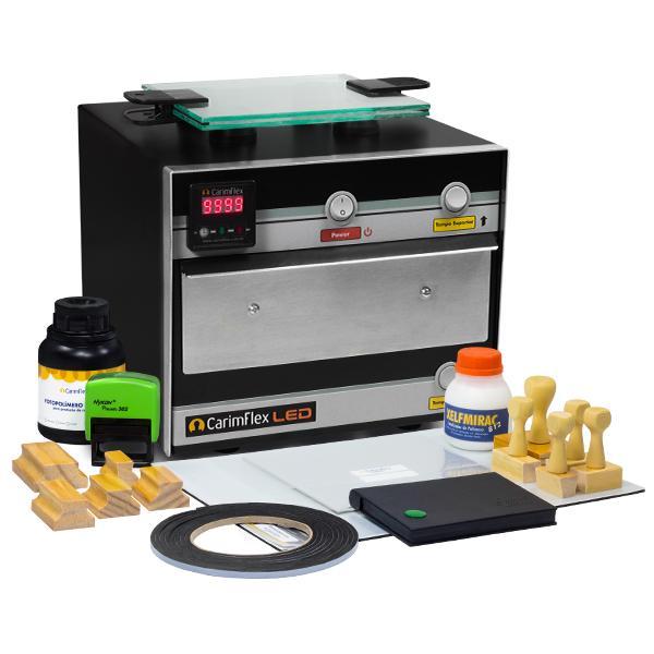 Foto 1 Máquina De Carimbos LED + Kit de Aprendizagem