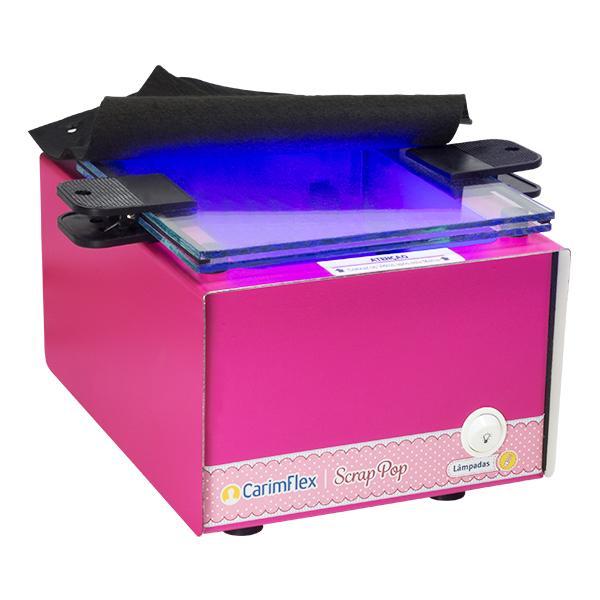 Foto 2 Máquina de carimbos Scrap Pop + Kit de Aprendizagem
