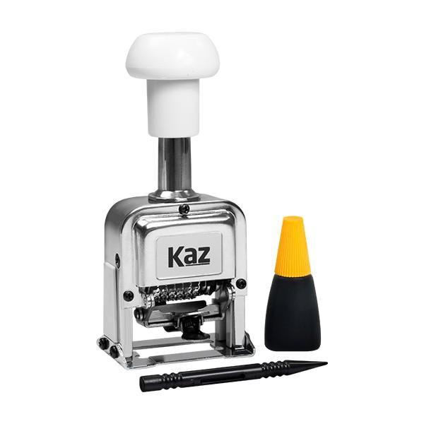 Foto 1 Numerador de Aço Sequencial KAZ KZ0747