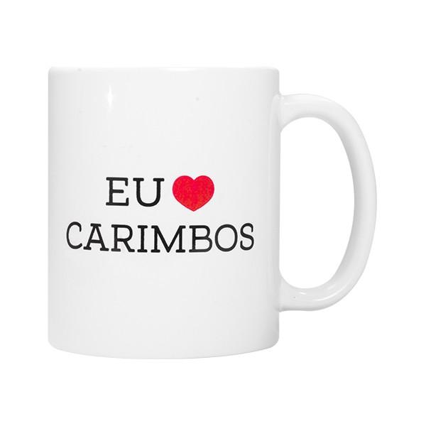 Foto 1 Caneca 'Eu Amo Carimbos'
