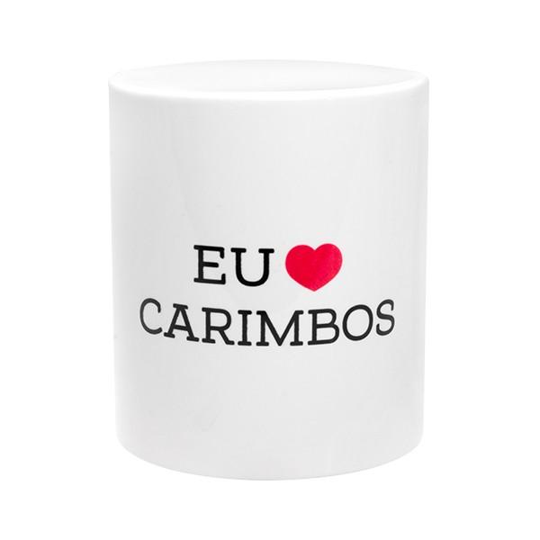 Foto 2 Caneca 'Eu Amo Carimbos'