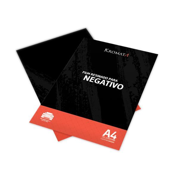 Foto 2 Film Resinado Kromata para Impressoras com Sensor - 10 unidades