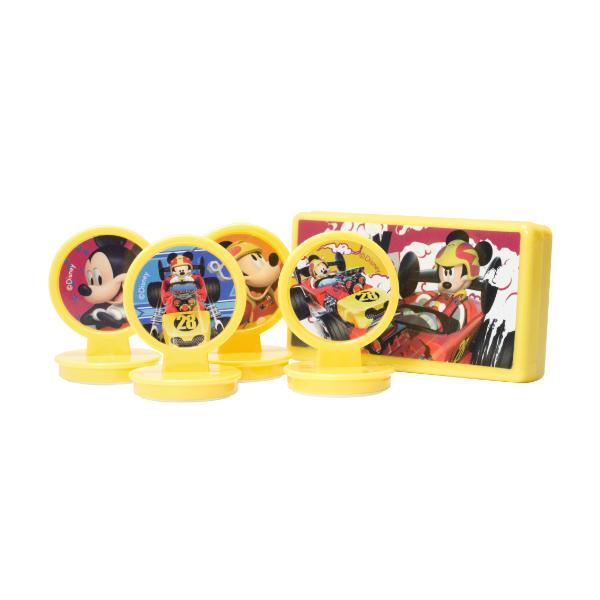 Foto 1 Kit 04 Carimbos Infantis - Disney (Mickey)