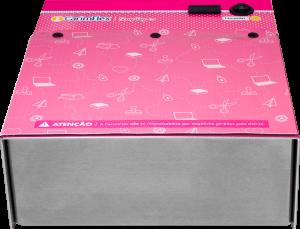 Máquina de Carimbos CarimFlex Scrap Pop G4 Vista de Frente