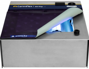Máquina de Carimbos CarimFlex MV-Pop G4 Vista de Frente